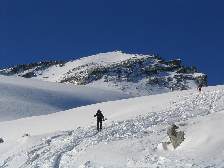 Foto: Andreas Koller / Ski Tour / Hohe Fürlegg, 2947m / 24.12.2008 01:24:05