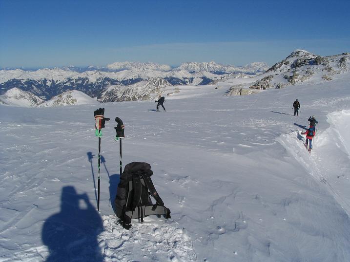 Foto: Andreas Koller / Ski Tour / Hohe Fürlegg, 2947m / 24.12.2008 01:23:45