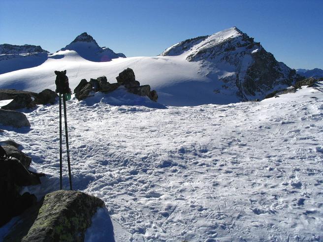 Foto: Andreas Koller / Ski Tour / Hohe Fürlegg, 2947m / 24.12.2008 01:23:31