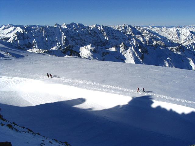 Foto: Andreas Koller / Ski Tour / Hohe Fürlegg, 2947m / 24.12.2008 01:23:14