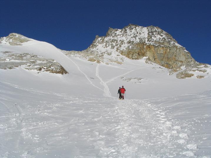 Foto: Andreas Koller / Ski Tour / Hohe Fürlegg, 2947m / 24.12.2008 01:23:08