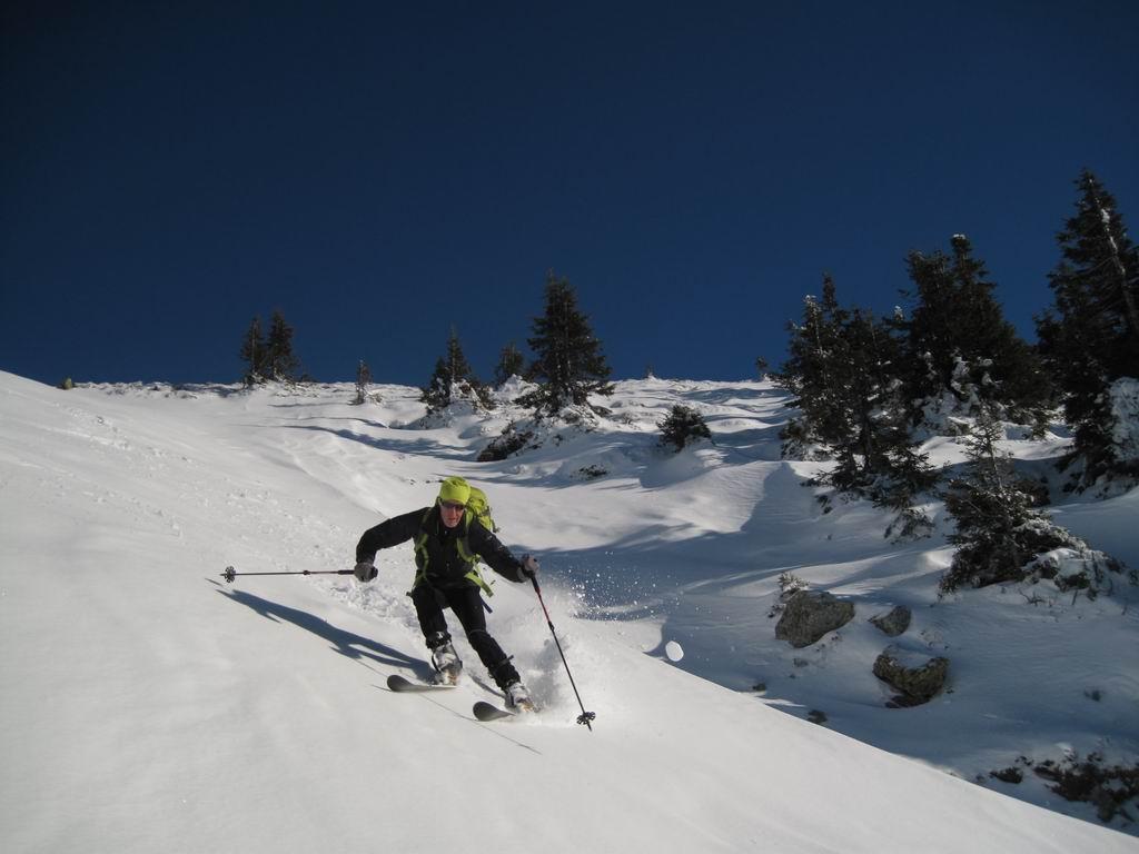 Foto: Heidi Schützinger / Ski Tour / Sonnspitze, 2062m - von Süden / Abfahrtsgenuss / 04.01.2011 17:30:14