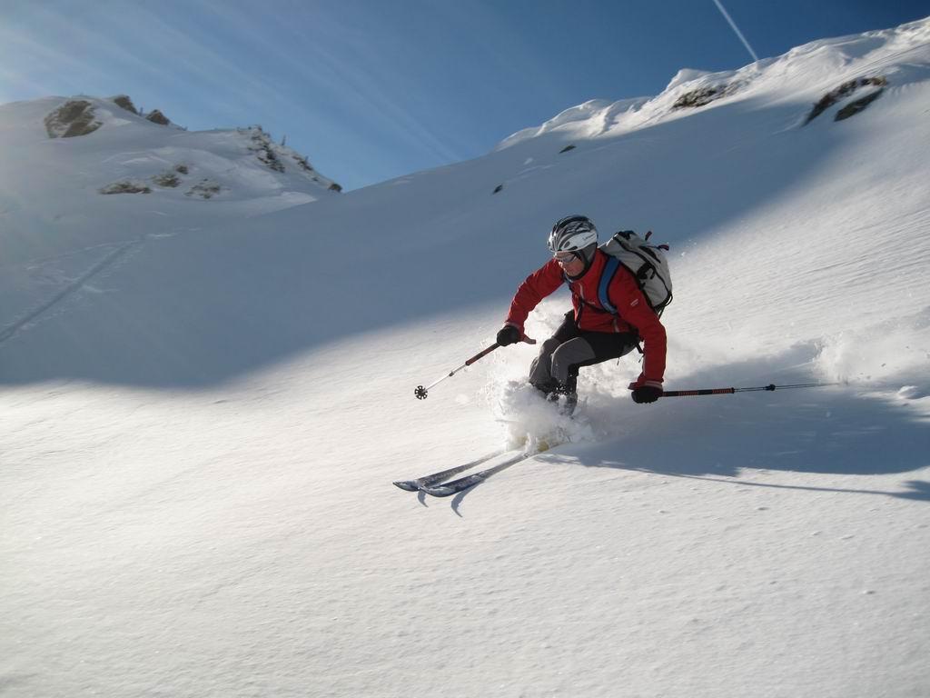 Foto: Heidi Schützinger / Ski Tour / Sonnspitze, 2062m - von Süden / Wunderschöne Jahresabschlußtour mit unseren Freunden  / 04.01.2011 17:31:02