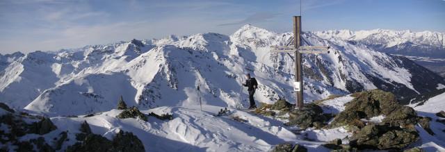 Foto: Wolfgang Lauschensky / Skitour / Rastkogel, 2761m / Halslspitze / 15.01.2012 17:52:38