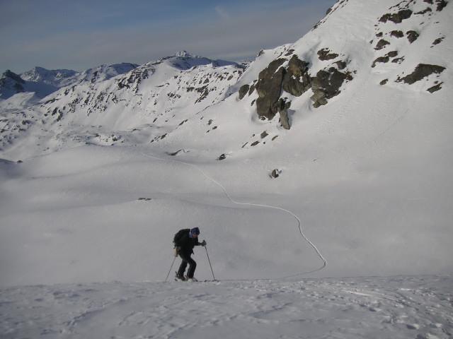 Foto: Wolfgang Lauschensky / Skitour / Rastkogel, 2761m / unterm Westgrat / 15.01.2012 17:52:21