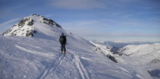 Foto: Wolfgang Lauschensky / Skitour / Rastkogel, 2761m / Gipfelhang / 15.01.2012 17:51:57