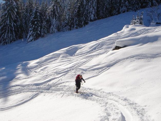 Foto: Manfred Karl / Ski Tour / Imbachhorn, 2470m / 21.12.2008 16:52:17