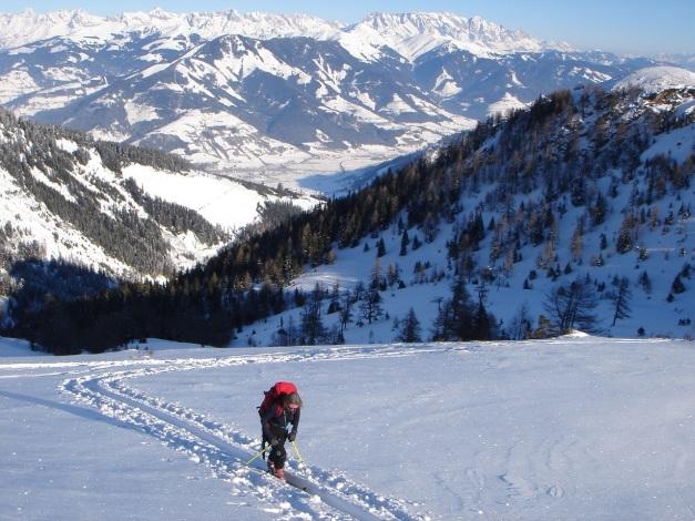 Foto: Manfred Karl / Ski Tour / Imbachhorn, 2470m / 21.12.2008 16:50:51