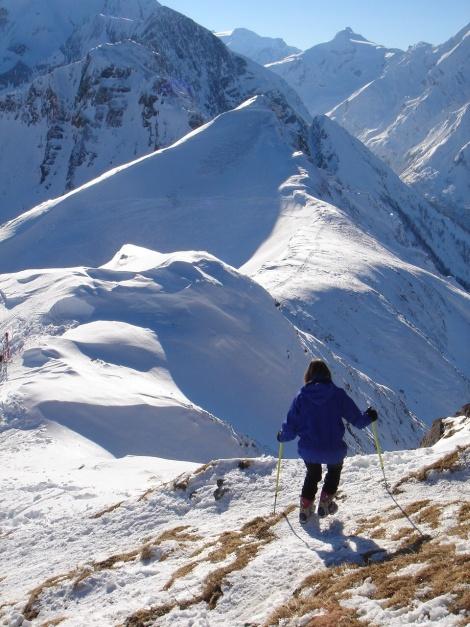 Foto: Manfred Karl / Ski Tour / Imbachhorn, 2470m / 21.12.2008 16:46:26