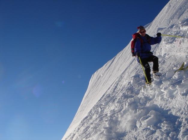 Foto: Manfred Karl / Ski Tour / Imbachhorn, 2470m / Leicht aufgesteilt ;-) / 21.12.2008 16:45:02