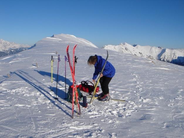 Foto: Manfred Karl / Ski Tour / Imbachhorn, 2470m / 21.12.2008 16:42:19