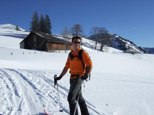 Foto: hofchri / Ski Tour / Hoher Zinken, 1764m / 16.12.2008 19:31:20