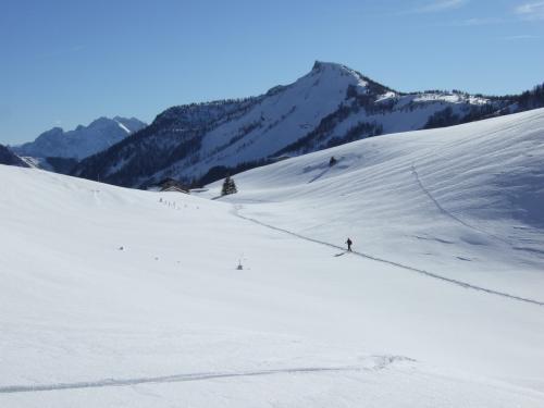 Foto: hofchri / Ski Tour / Hoher Zinken, 1764m / 16.12.2008 19:31:28