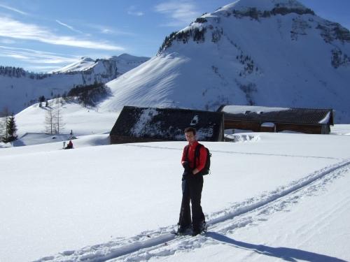 Foto: hofchri / Ski Tour / Hoher Zinken, 1764m / 16.12.2008 19:31:44