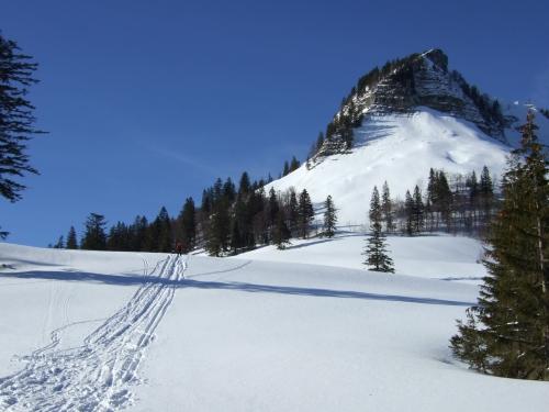 Foto: hofchri / Ski Tour / Hoher Zinken, 1764m / 16.12.2008 19:31:51