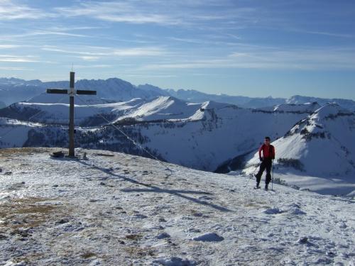 Foto: hofchri / Ski Tour / Hoher Zinken, 1764m / 16.12.2008 19:31:59