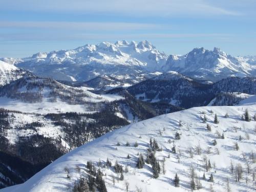 Foto: hofchri / Ski Tour / Hoher Zinken, 1764m / 16.12.2008 19:32:06