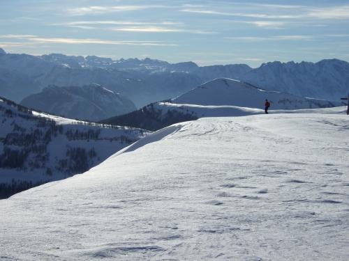 Foto: hofchri / Ski Tour / Hoher Zinken, 1764m / 16.12.2008 19:32:15