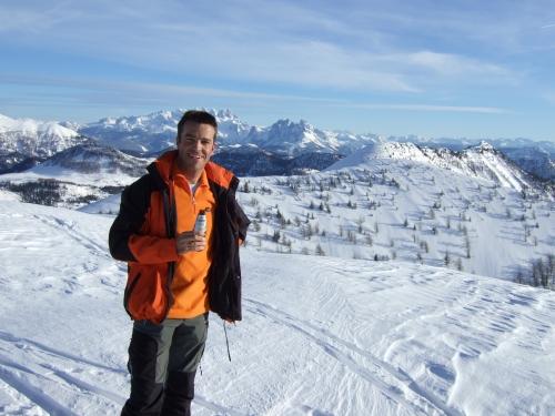 Foto: hofchri / Ski Tour / Hoher Zinken, 1764m / 16.12.2008 19:32:23