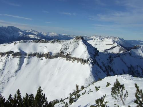 Foto: hofchri / Ski Tour / Gennerhorn, 1735m / 16.12.2008 19:41:22