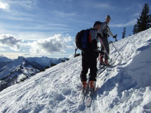 Foto: hofchri / Ski Tour / Gennerhorn, 1735m / 16.12.2008 19:40:54