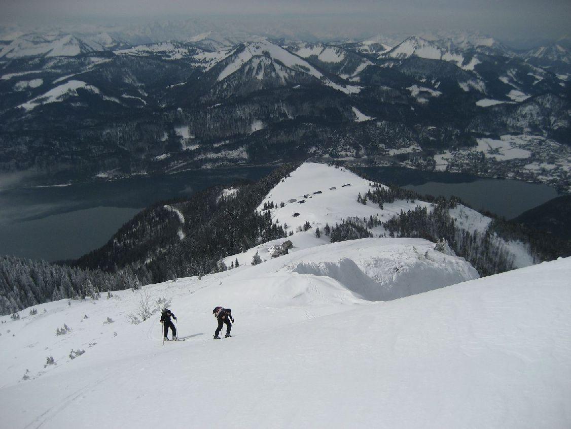 Foto: vbuebi2 / Ski Tour / Schafberg, 1782m / 15.03.2009 10:04:39