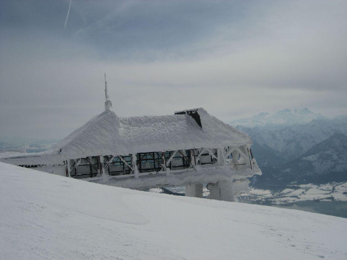 Foto: vbuebi2 / Ski Tour / Schafberg, 1782m / 15.03.2009 10:05:30