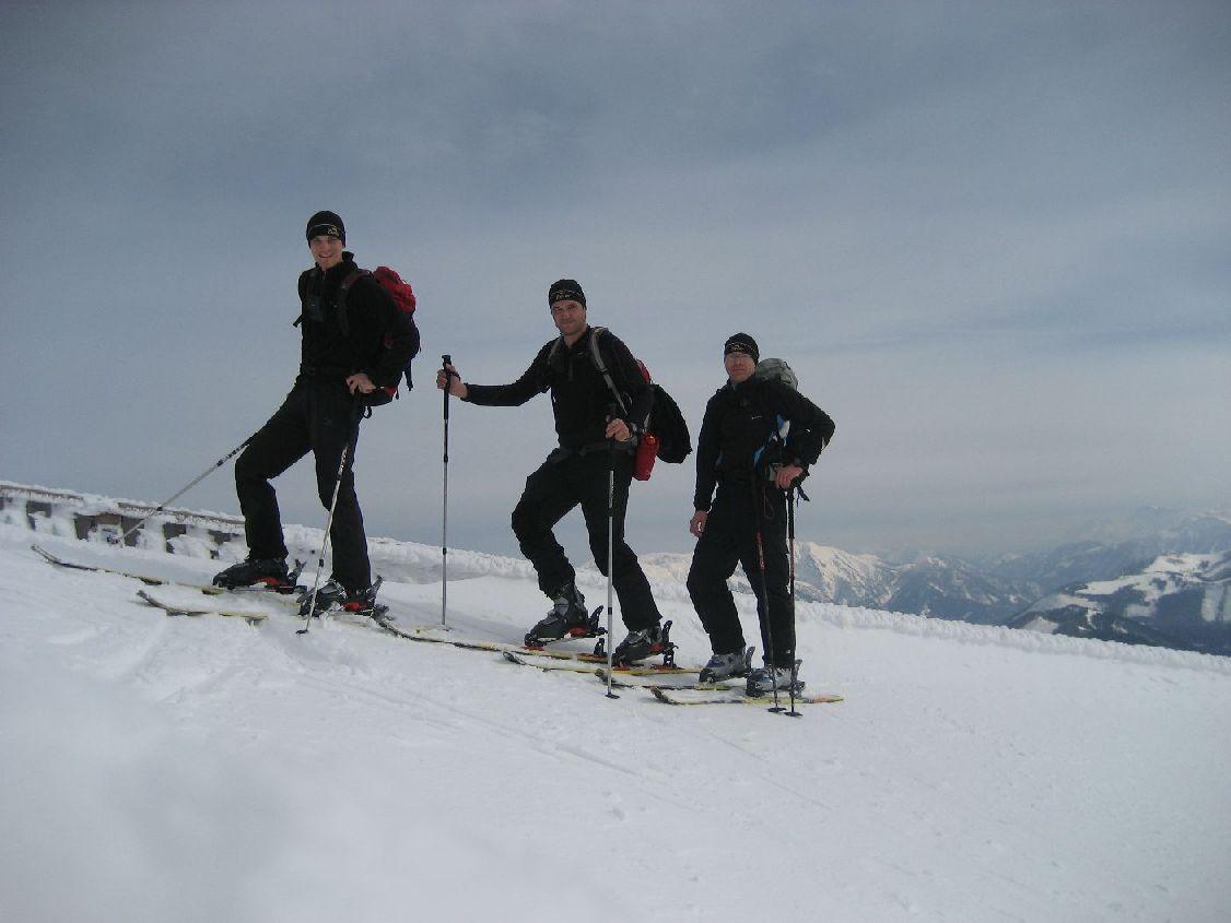 Foto: vbuebi2 / Ski Tour / Schafberg, 1782m / 15.03.2009 10:05:41