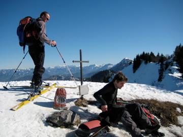 Foto: marko / Skitour / Schwarzkogel, 1535m / 18.02.2008 20:54:02
