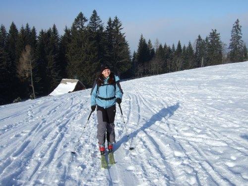 Foto: hofchri / Skitour / Schlenken (über Jägernase) / Start GH Zillreith / 08.01.2009 20:25:28