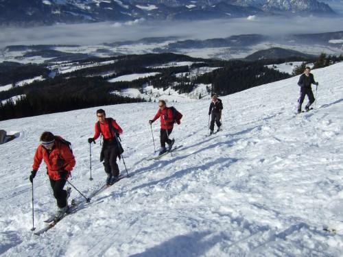 Foto: hofchri / Skitour / Schlenken (über Jägernase) / 22.12.2008 20:00:55