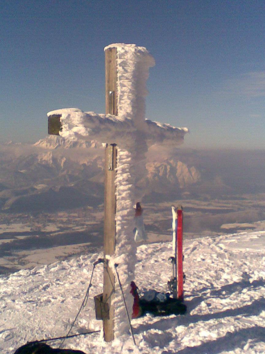 Foto: Johann Seiwald / Skitour / Schlenken (über Jägernase) / 26.10.2008 14:21:31