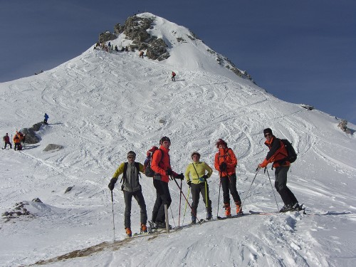 Foto: hofchri / Ski Tour / Große Kesselspitze, 2351m / 21.12.2008 14:31:59