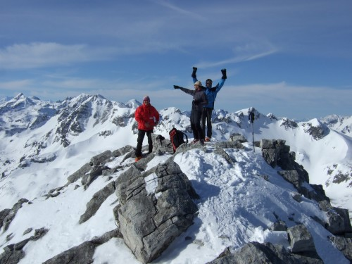 Foto: hofchri / Ski Tour / Große Kesselspitze, 2351m / 21.12.2008 14:32:20