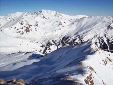 Foto: Datzberger Hans / Ski Tour / Regenkarspitz, 2112m / Gipfelpanorama zum Zinkenkogel / 14.01.2008 12:28:03