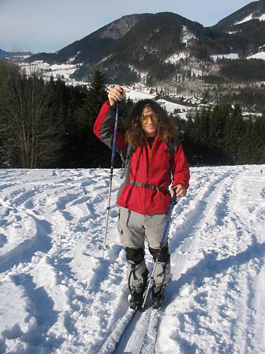 Foto: Lenswork.at / Ch. Streili / Ski Tour / Loibersbacher Höhe, 1456m / Unser Gast aus USA; Jeff von der Eric Gales Band / 21.11.2007 19:50:37