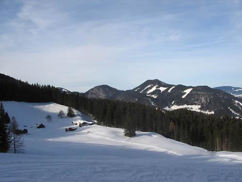 Foto: Lenswork.at / Ch. Streili / Ski Tour / Loibersbacher Höhe, 1456m / 21.11.2007 19:51:40