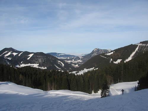 Foto: Lenswork.at / Ch. Streili / Ski Tour / Loibersbacher Höhe, 1456m / 21.11.2007 19:51:31