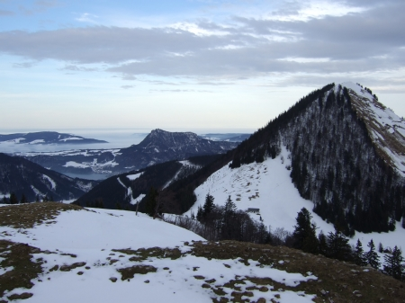 Foto: hofchri / Ski Tour / Loibersbacher Höhe, 1456m / 16.12.2008 19:05:54