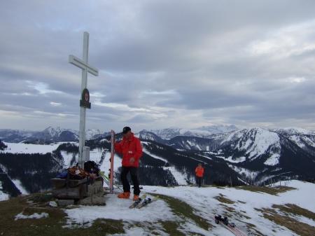 Foto: hofchri / Ski Tour / Loibersbacher Höhe, 1456m / 16.12.2008 19:06:00