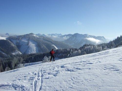 Foto: hofchri / Ski Tour / Loibersbacher Höhe, 1456m / 03.01.2009 19:58:48