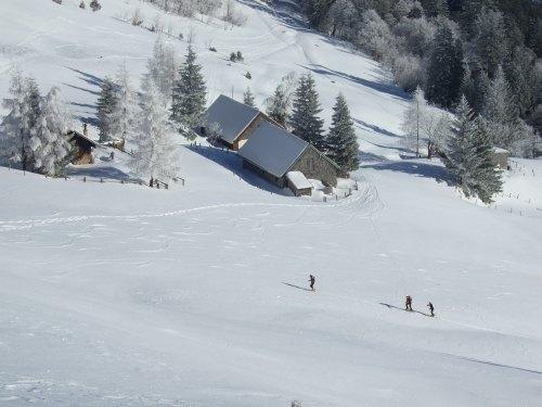 Foto: hofchri / Ski Tour / Loibersbacher Höhe, 1456m / 03.01.2009 19:58:58