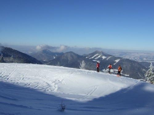 Foto: hofchri / Ski Tour / Loibersbacher Höhe, 1456m / 03.01.2009 20:00:08