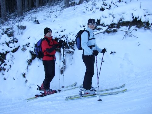 Foto: hofchri / Ski Tour / Loibersbacher Höhe, 1456m / 03.01.2009 19:57:31