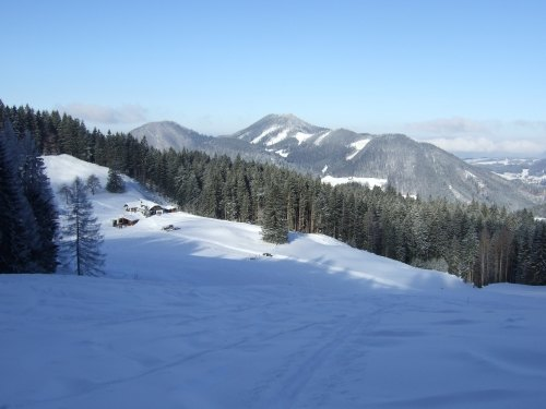 Foto: hofchri / Ski Tour / Loibersbacher Höhe, 1456m / 03.01.2009 19:57:47