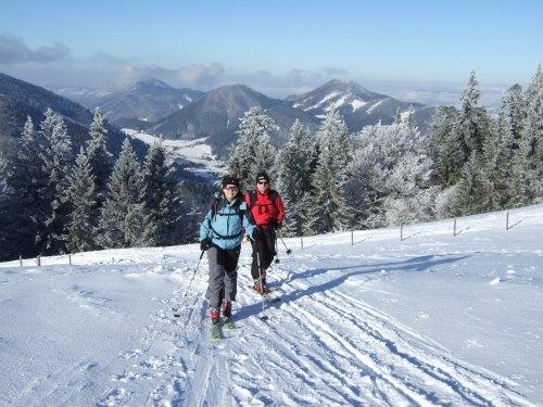Foto: hofchri / Ski Tour / Loibersbacher Höhe, 1456m / 03.01.2009 19:58:06