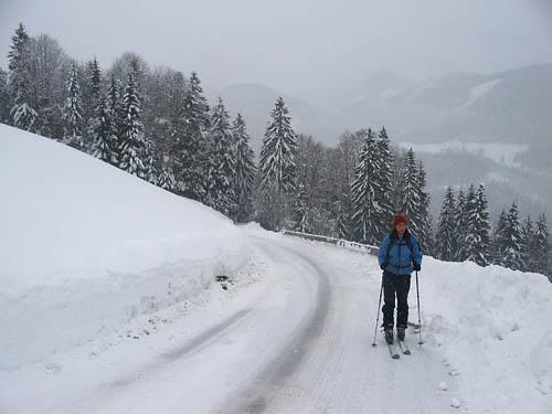 Foto: Lenswork.at / Ch. Streili / Ski Tour / Loibersbacher Höhe, 1456m / 19.11.2007 10:43:43