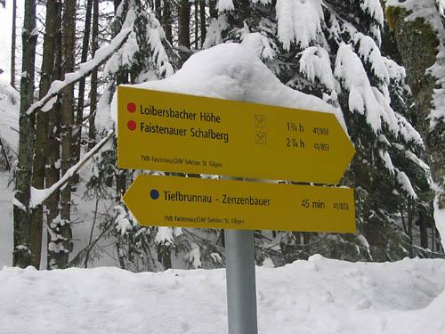 Foto: Lenswork.at / Ch. Streili / Ski Tour / Loibersbacher Höhe, 1456m / 19.11.2007 10:43:00