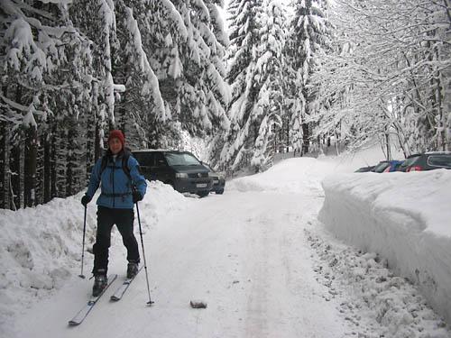 Foto: Lenswork.at / Ch. Streili / Ski Tour / Loibersbacher Höhe, 1456m / 19.11.2007 10:42:41