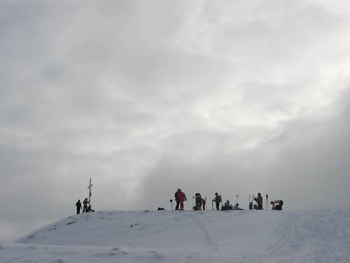 Foto: Lenswork.at / Ch. Streili / Ski Tour / Loibersbacher Höhe, 1456m / 19.11.2007 10:42:18